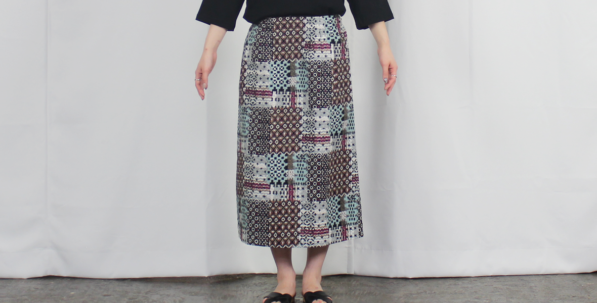 BOX LONG SKIRT